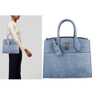 Louis Vuitton 2017 City Steamer MM  Limited Bag